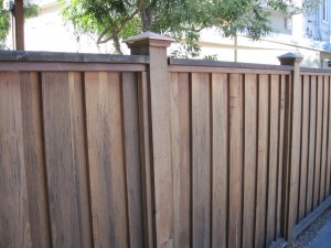 Image of custom fence